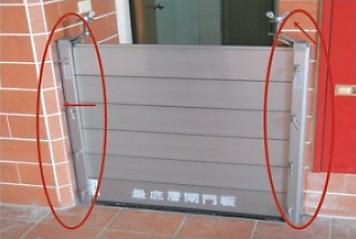 內牆安裝法